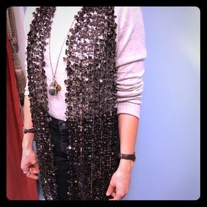 NWT Marc Jacobs Sequined Scarf